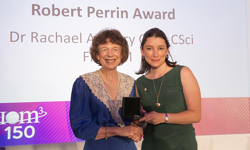 Dr Rachael Ambury Robert Perrin Award 2019